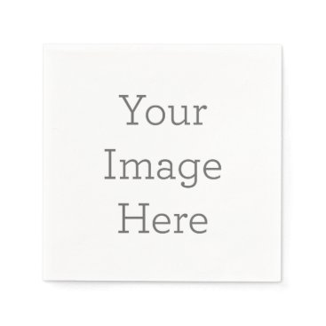 zazzle_templates Create Your Own Paper Napkin