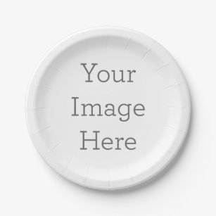 Create Your Own Paper Plate  sc 1 st  Zazzle : make your own paper plates - pezcame.com