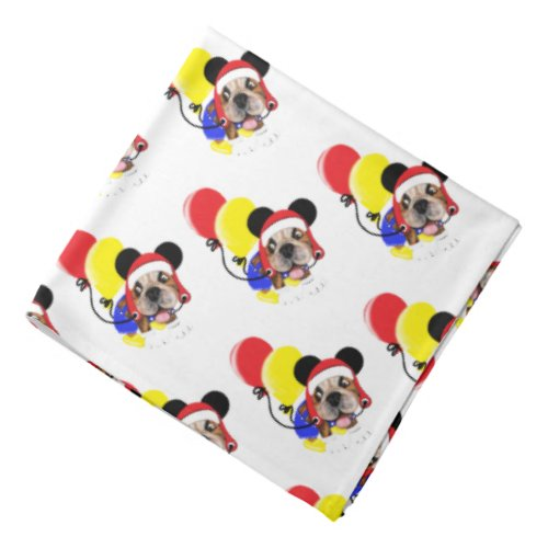Create Your Own Party Dog Bandana