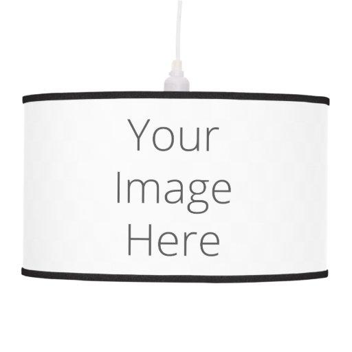 create your own pendant lamp zazzle. Black Bedroom Furniture Sets. Home Design Ideas