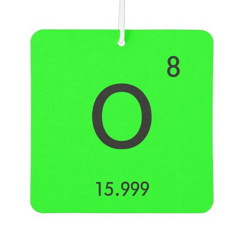 Create Your Own Periodic Table Element Symbol Air Freshener