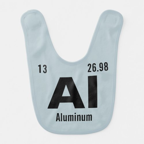 Create your own Periodic Table of the Elements Baby Bib