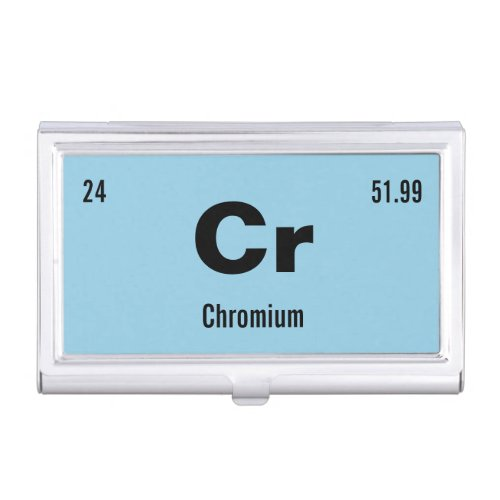 Create your own Periodic Table of the Elements Business Card Case