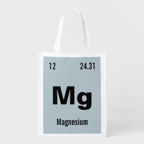 Create your own Periodic Table of the Elements Grocery Bag