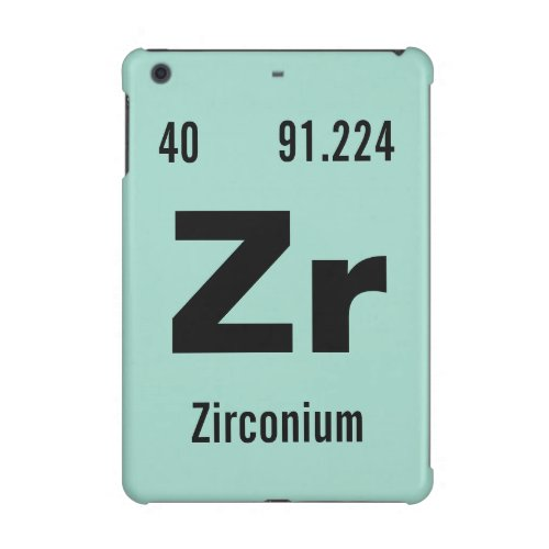 Create your own Periodic Table of the Elements iPad Mini Case