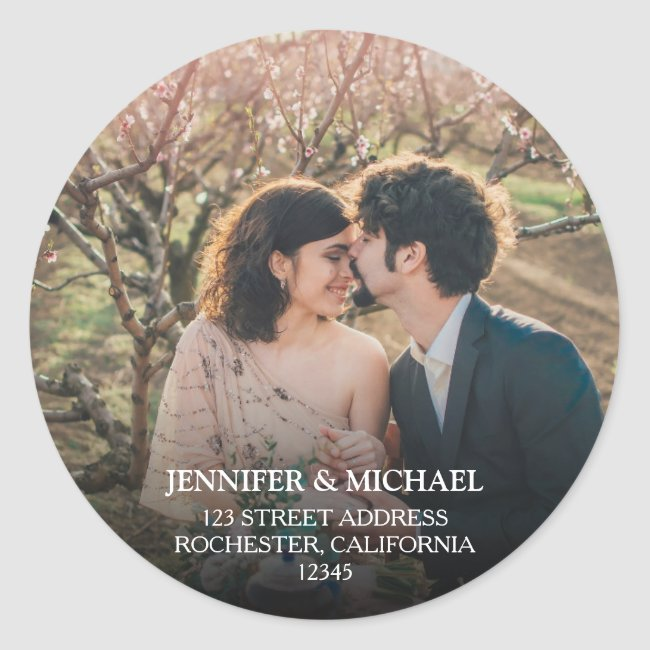 Create your own personal photo Wedding seals