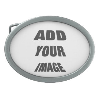 Create Your Own Personalised Oval Belt Buckle Temp