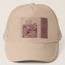 Create your own personalized 70th birthday trucker hat
