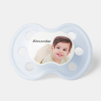 Create Your Own Personalized Blue Pacifier BooginHead Pacifier
