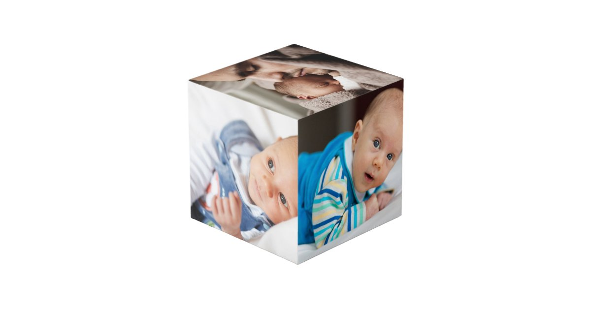 create your own personalized cube zazzle