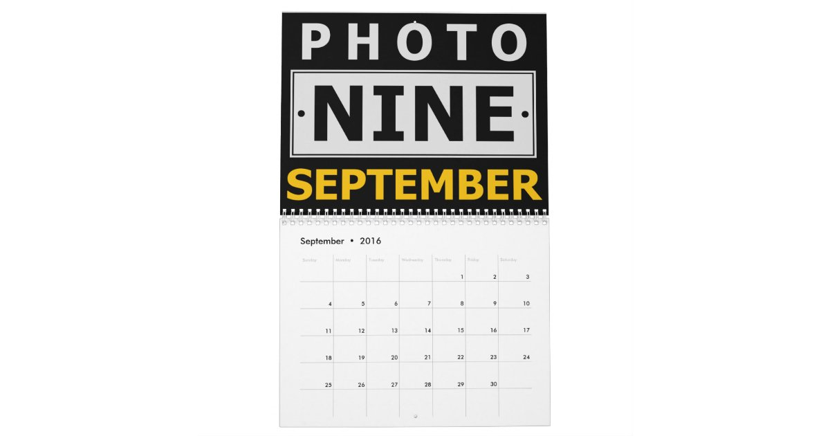 Calendar Design Your Own : Create your own personalized custom photo calendar