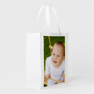Create Your Own Personalized DIY 2 Sided Grocery Bags