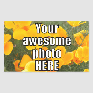 Create Your Own Personalized My Photo Upload Gift Sticker
