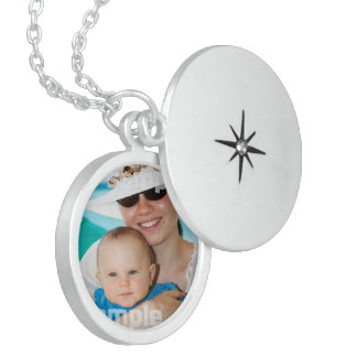 Create Your Own Personalized One Of A Kind Round Locket Necklace