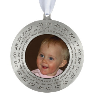 Create your own personalized ornament. pewter ornament