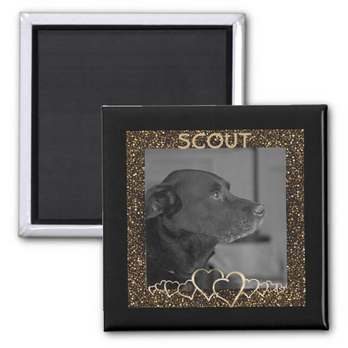Create Your Own  Personalized Pet Photo Keepsake Magnet