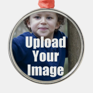 Create Your Own Personalized Photo Mug from Child Metal Ornament