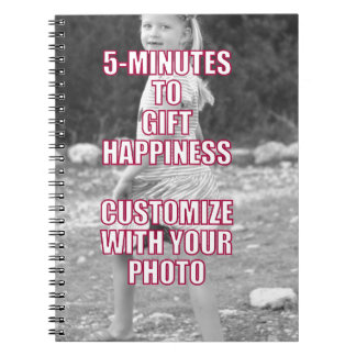 CREATE YOUR OWN Personalized Photo Present Notebook