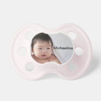 Create Your Own Personalized Pink Pacifier BooginHead Pacifier