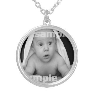 Create Your Own Personalized Silver Plated Necklace