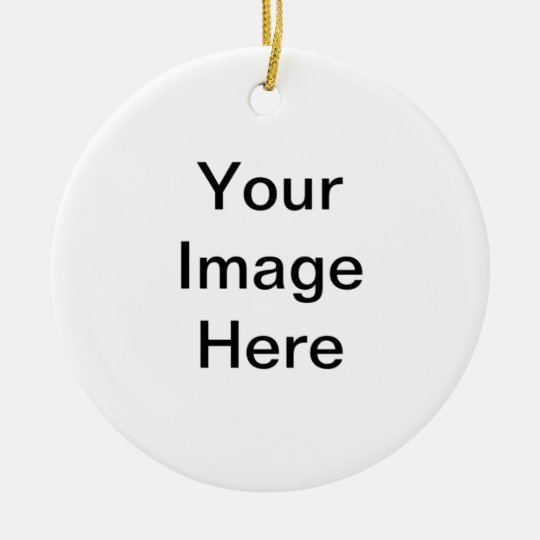 Create your own personalized St Patricks Day Gift Ceramic Ornament