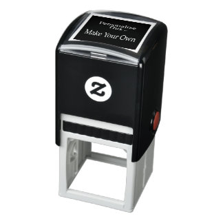 Create your own personalized unique one of a kind self-inking stamp