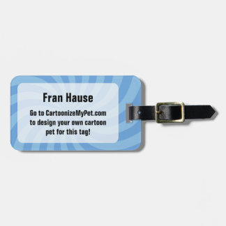 Create Your Own Pet Bag Tag