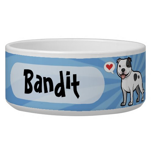 Create Your Own Pet Bowl