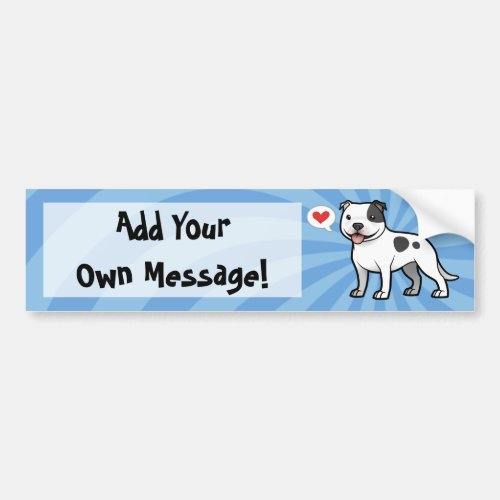 Create Your Own Pet Bumper Sticker