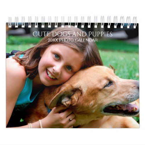 Create Your Own Pet Dog Photos 2020 Small Calendar