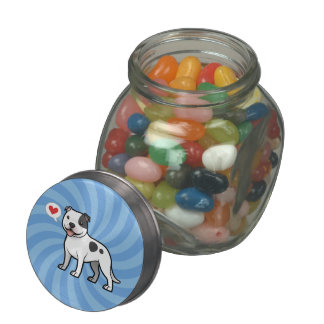 Create Your Own Pet Glass Candy Jars