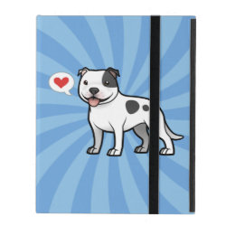 Powis iCase iPad Case with Kickstand with Bull Terrier Phone Cases design