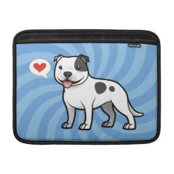 Macbook Air Sleeve with Bull Terrier Phone Cases design