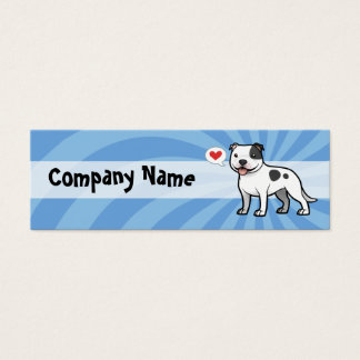 Create Your Own Pet Mini Business Card