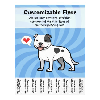 create your own brochure templates free - pit bull flyers pit bull flyer templates and printing