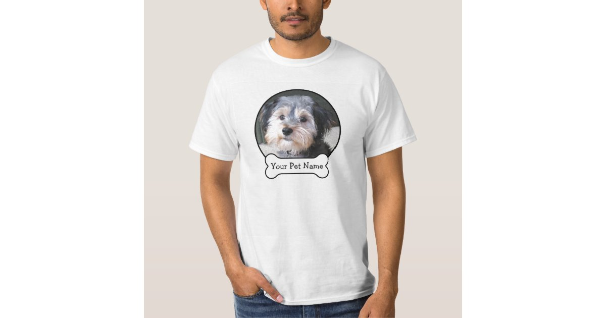 Create your own pet photo memory t shirt zazzle for Create your own t shirt with picture