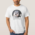 Create Your Own Pet Photo Memory T-shirts