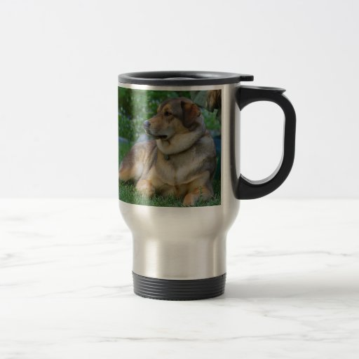 CREATE YOUR OWN PET PHOTO 15 OZ STAINLESS STEEL TRAVEL MUG