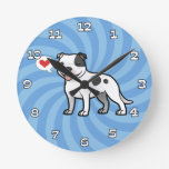 Create Your Own Pet Round Wall Clock