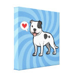 Create Your Own Pet Stretched Canvas Prints