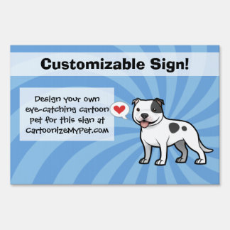 Create Your Own Pet Lawn Sign