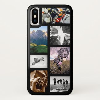 Create-Your-Own Photo/Artwork/Logo Image Collage Case-Mate iPhone Case