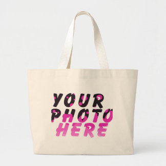 CREATE YOUR OWN PHOTO CANVAS BAG