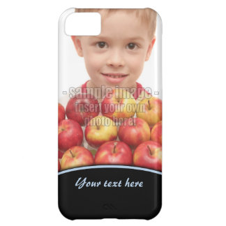 Create Your Own Photo Blue Edge iPhone5 Cover For iPhone 5C