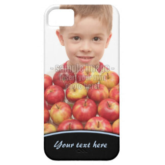 Create Your Own Photo Blue Edge iPhone5 iPhone SE/5/5s Case