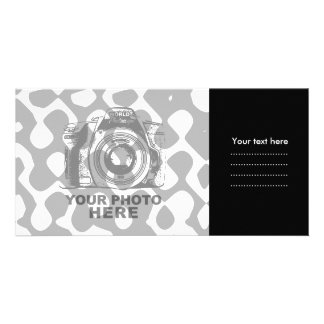 Create Your Own Photo Card Black