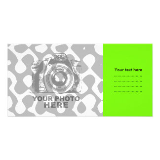 Create Your Own Photo Card Green