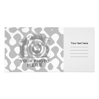 Create Your Own Photo Card Grey