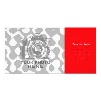 Create Your Own Photo Card Red