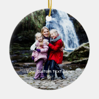 Create-Your-Own-Photo   Ceramic Ornament